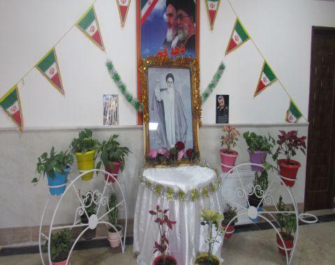 مراسم گلباران تمثال رهبر کبیر انقلاب – بهمن ماه 98