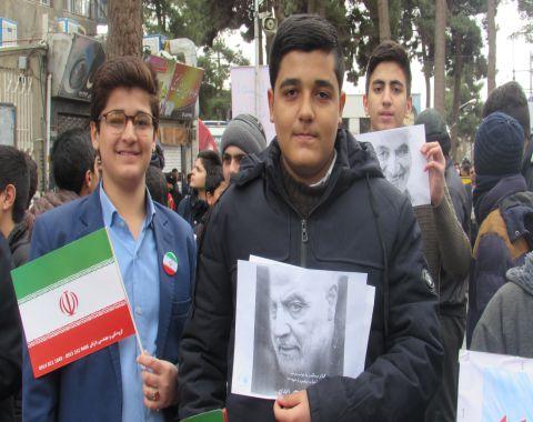 شرکت در راهپیمایی 22 بهمن – بهمن ماه 98
