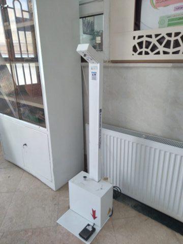 نصب و راه اندازی دستگاه ضد عفونی کننده