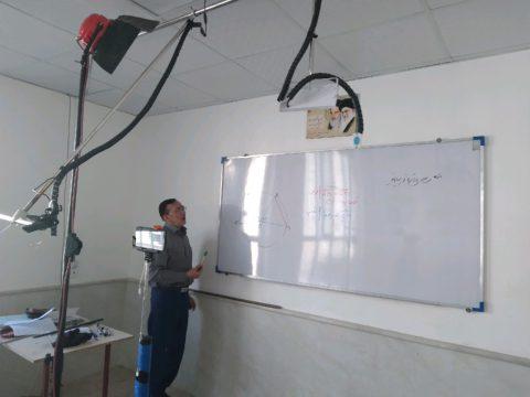 شروع کلاس های درس دربسترفضای مجازی
